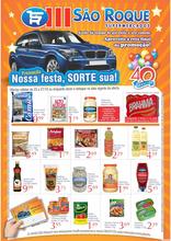 São Roque supermercados  - Nossa festa, sorte sua!