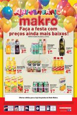 Makro - Faça a festa com preços ainda mais baixos!