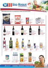 São Roque supermercados  - 40 anos