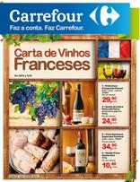 Carrefour - Carta de vinhos Franceses