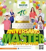 Master supermercados - Aniversário Master