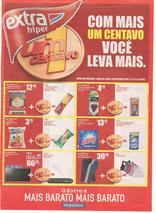 Extra supermercados - Com mais um centavo você leva mais