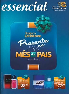 Volantino drogaria-catarinense - Mês dos pais