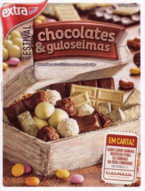 Volantino extra-supermercados - Chocolates e guloseimas