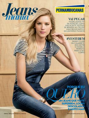 Volantino pernambucanas - Jeans mania
