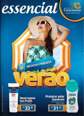 Volantino drogaria-catarinense - Próxima parada: Verão
