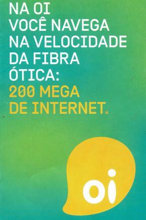 Volantino oi - 200 mega de internet